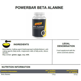 PowerBar Beta Alanine Tablets 112 Pieces